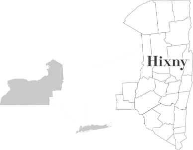 NYS Map with Hixny Coverage